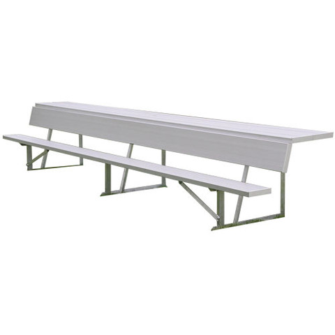 7.5' Player's Bench with shelf