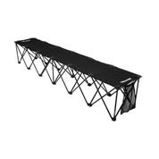 Insta-Bench 6-Seater Bench - Black