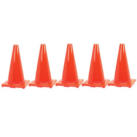"""36"""" Orange Game Cones - (Set of 5)"""
