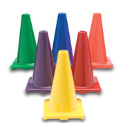 "Color My Class®  12"" Game Cones Set of 6"