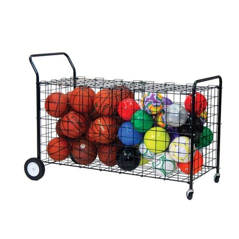 Double-Sided Ball Locker for Divided Storage