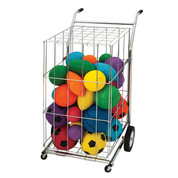 Folding Portable Ball Locker with Handles