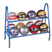 Portable Ball Cart for 12 Basketballs