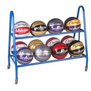 Portable Ball Cart for 12 Basketballs