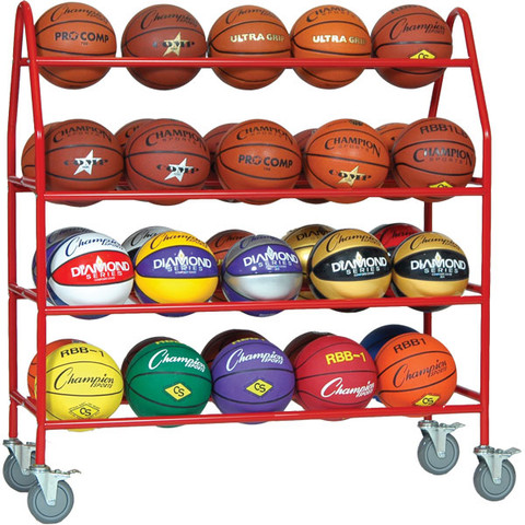 Pro Ball Cart for up to 35 Balls in Multiple Sports