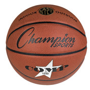 Champion Sports Composite Basketball - Intermediate Size NFHS and NCAA Approved