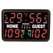 Multi-Sport Tabletop Indoor Electronic Scoreboard with Remote