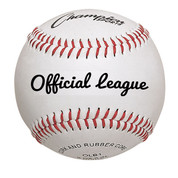 Champion Sports Official League Premium Leather Baseball