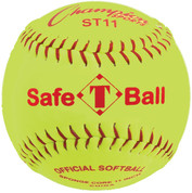 "11"" Safety Softball with Synthetic Leather Cover"
