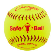 "12"" Safety Softball with Synthetic Leather Cover"