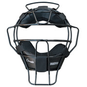 Ultra Lightweight Umpires Face Mask Black