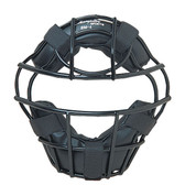 Heavy-Duty Youth Baseball Catcher's Mask - Black