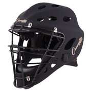 Adult Hockey Style Catcher's Mask - Matte Black