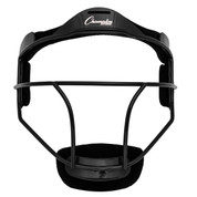 Black Adult Softball Fielder's Face Mask