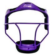 Purple Adult Softball Fielder's Face Mask