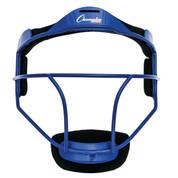 Blue Adult Softball Fielder's Face Mask