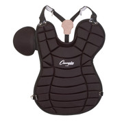 Black Pro Adult Chest Protector - 16.5 Inches Long