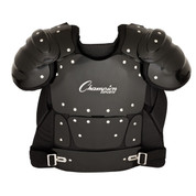 Outside Plastic Shield Professional Umpire Chest Protector - 17""