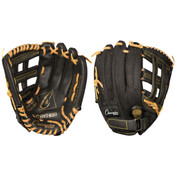 Baseball and Softball Leather and Nylon Glove - 10""