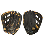 Baseball and Softball Leather and Nylon Glove - 11""