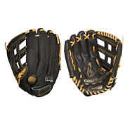Baseball and Softball Leather and Nylon Glove  - Full Right - 11""