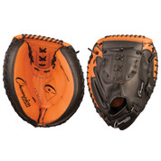 "Adult Leather Catcher's Mitt - 33.5"" - Black/Brown"