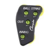 Plastic 4-Wheel Plastic Baseball Umpire Indicator - Strkes, Balls, Outs, Innings