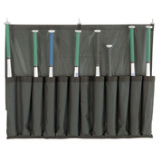 Baseball Team Bat Caddy Organizer