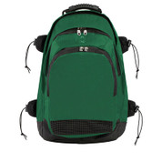 Deluxe Athletes All Purpose Backpack - Dark Green