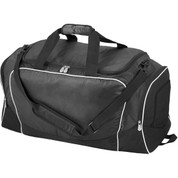 Black Heavy Duty Polyester Sports Personal Equipment Bag