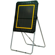 Lacrosse Pro Bounce Target Passing Skills Trainer Net Black/Yellow