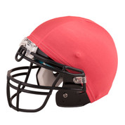 Red Nylon Stretch Football Helmet Cover
