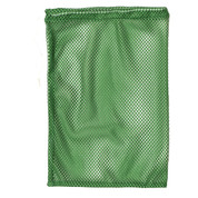"Green Drawstring Quick Dry Mesh Equipment Bag -12"" x 18"""