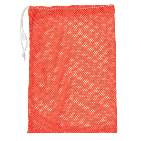 "Orange Drawstring Quick Dry Mesh Equipment Bag -12"" x 18"""