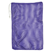 "Purple Drawstring Quick Dry Mesh Equipment Bag -12"" x 18"""