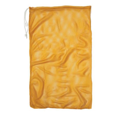 """Gold Drawstring Quick Dry Mesh Equipment Bag - 24"""" x 36"""""""