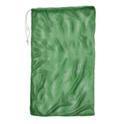 "Green Drawstring Quick Dry Mesh Equipment Bag - 24"" x 36"""