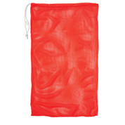 "Orange Drawstring Quick Dry Mesh Equipment Bag - 24"" x 36"""