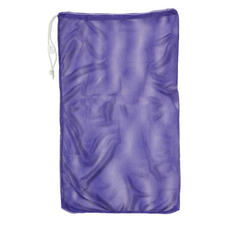 "Purple Drawstring Quick Dry Mesh Equipment Bag - 24"" x 36"""