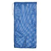 "Royal Blue Drawstring Quick Dry Mesh Equipment Bag - 24"" x 48"""