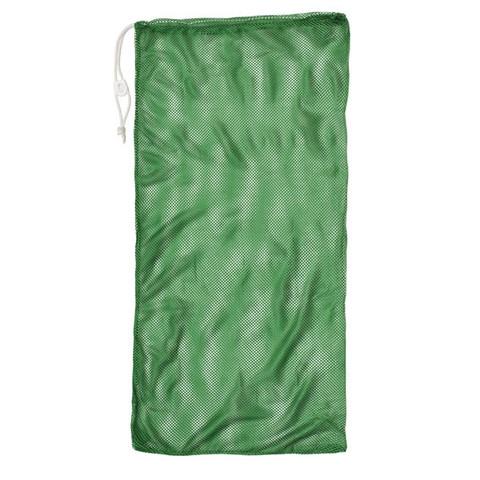 """Green Drawstring Quick Dry Mesh Equipment Bag - 24"""" x 48"""""""