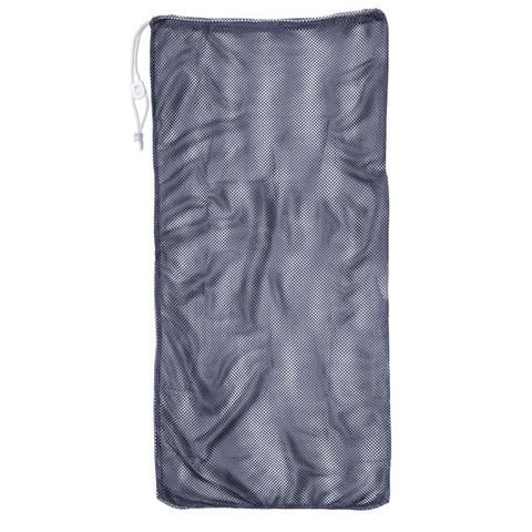 """Navy Blue Drawstring Quick Dry Mesh Equipment Bag - 24"""" x 48"""""""