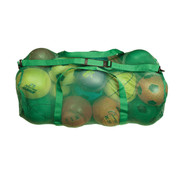 """Green Oversized Mesh Breathable Duffle Bag with Shoulder Strap - Size: 15"""" x 36"""""""
