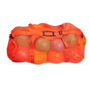 "Orange Oversized Mesh Breathable Duffle Bag with Shoulder Strap - Size: 15"" x 36"""