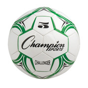 Green/White Champion Sports Challenger Series Size 3 Soccer Ball