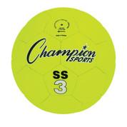Fluorescent Super Soft Size 3 Soccer Ball