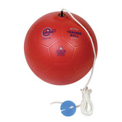 Teathered Training Foam Soccer Ball - Size 4