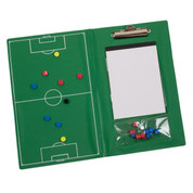 Magnetic Soccer Coaches Clipboard Set