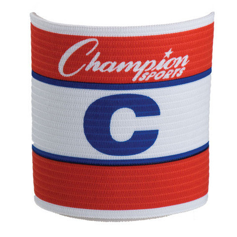 Official Adjustable Captains Armband - Red/White/Blue