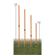 Champion Sports Adjustable Agility Pole Set